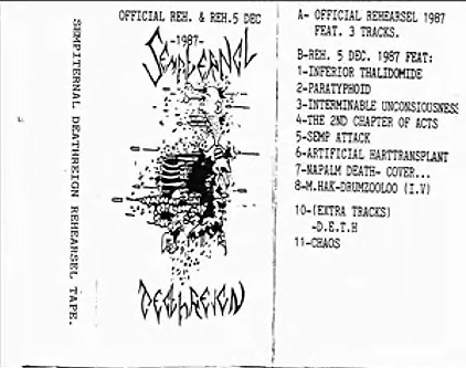 Sempiternal Deathreign - Rehearsel