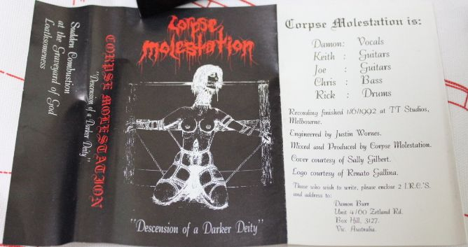 Corpse Molestation - Descension of a Darker Deity