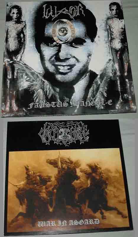 Nachtfalke / Luror - War in Asgard / Faustus M-Ängel-E