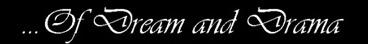 ...of Dream and Drama - Logo