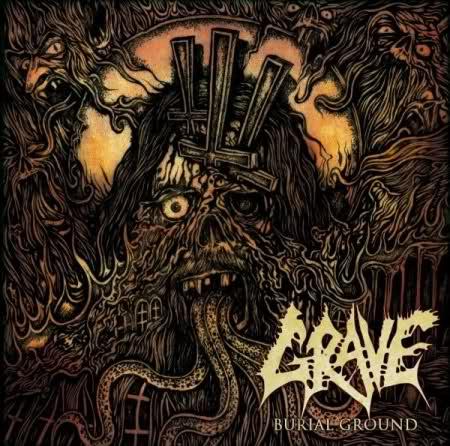 Review: Grave - Burial Ground :: Klicken zum Anzeigen...