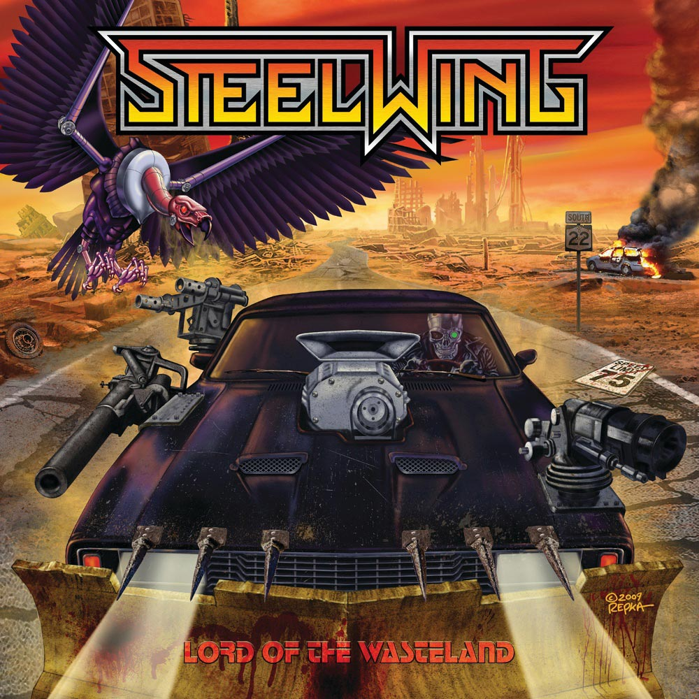 Cover of Steelwing - Lord Of The Wasteland
