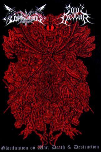 Soul Devour / Crown ov Horns - Glorification ov War, Death & Destruction