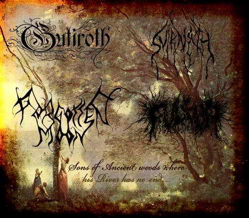 Gutiroth / Fulgur / Svirnath / Forgotten Moon - Sons of Ancient Woods Where His River Has No End...