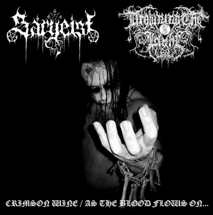 Sargeist / Drowning the Light - Crimson Wine / As the Blood Flows On...