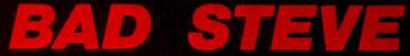 Bad Steve - Logo