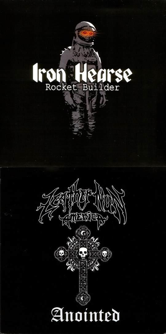 Iron Hearse / Leather Nun America - Rocketbuilder / Anointed