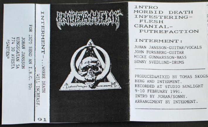 Interment - Where Death Will Increase