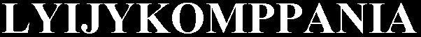 Lyijykomppania - Logo