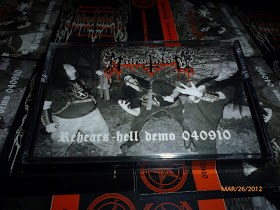 Molestator - Rehears-hell Demo 040910