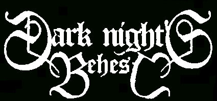 Dark Nights Behest - Logo