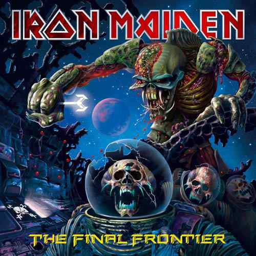 Cover of Iron Maiden - The Final Frontier