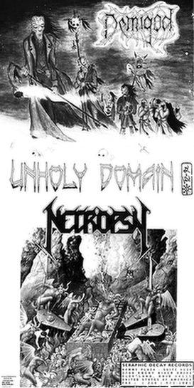 Demigod / Necropsy - Unholy Domain / Necropsy