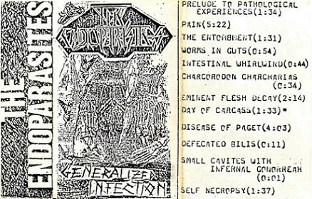 The Endoparasites - Generalized Infection