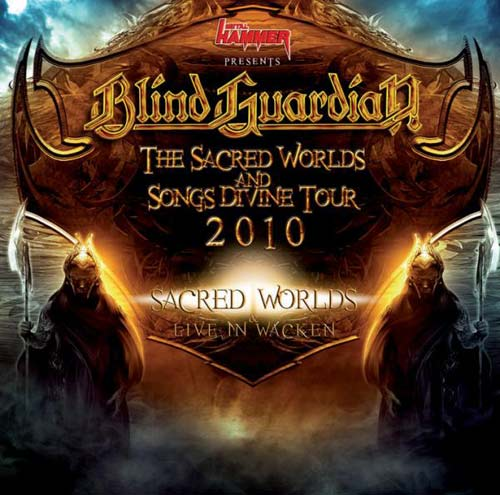 Blind Guardian - The Sacred Worlds and Songs Divine Tour 2010