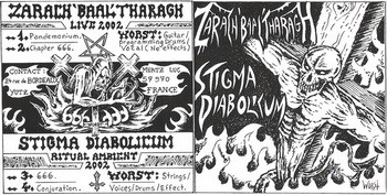 Zarach 'Baal' Tharagh - Zarach 'Baal' Tharagh / Stigma Diabolicum I