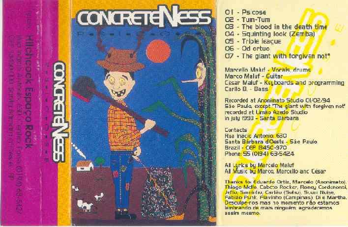 ConcreteNess - Psicose