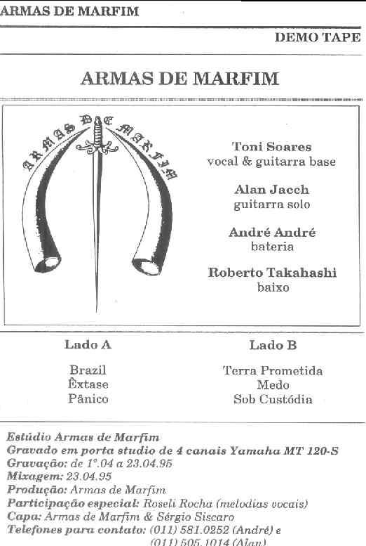 Armas de Marfim - Armas de Marfim 1995