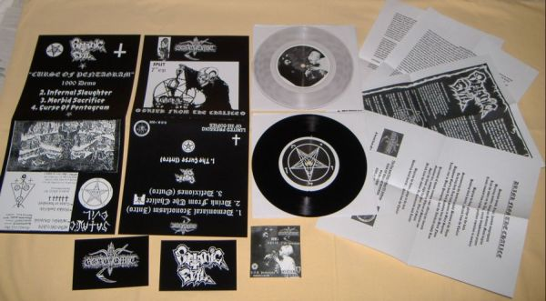 Goatvomit / Satanic Evil - Drink from the Chalice / Curse of Pentagram