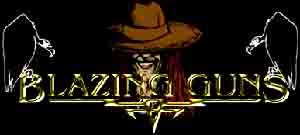 Blazing Guns - Logo