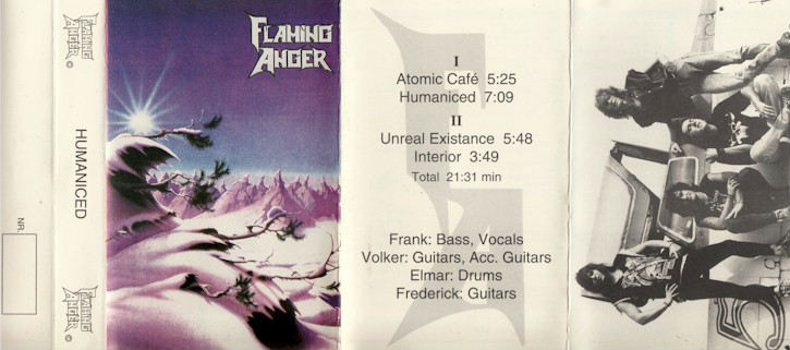 Flaming Anger - Humaniced