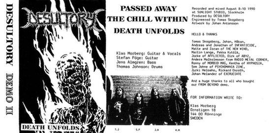 Desultory - Death Unfolds