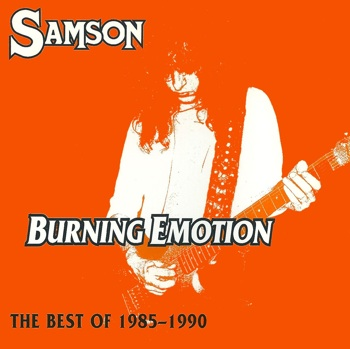 Samson - Burning Emotion / The Best of 1985-1990