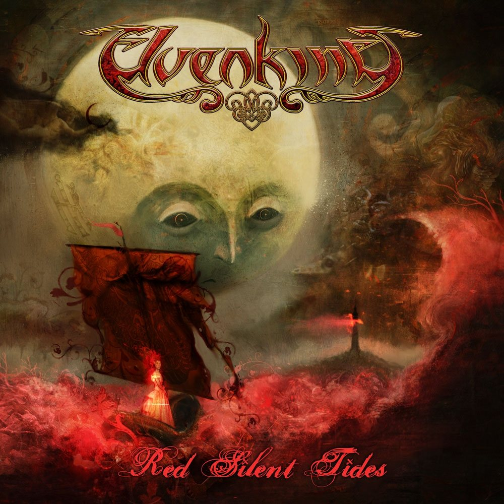 Cover of Elvenking � Red Silent Tides