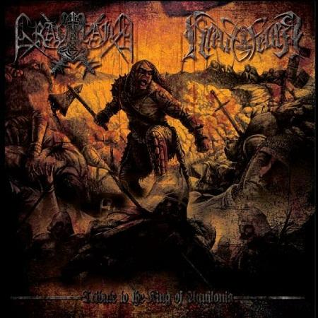 Graveland / Kreuzfeuer - Tribute to the King of Aquilonia