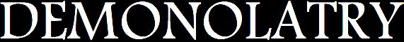 Demonolatry - Logo