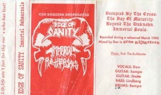 Edge of Sanity - The Immortal Rehearsals