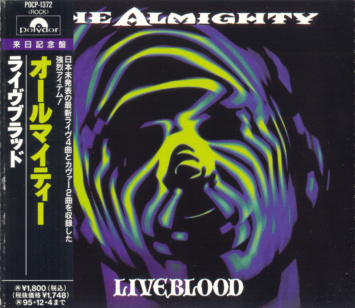 The Almighty - Liveblood