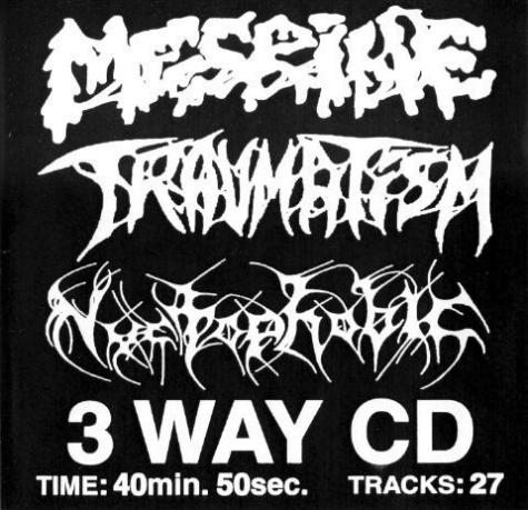 Mesrine / Nyctophobic / Traumatism - Mesrine / Traumatism / Nyctophobic