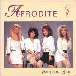 Afrodite - Cartoon Girl