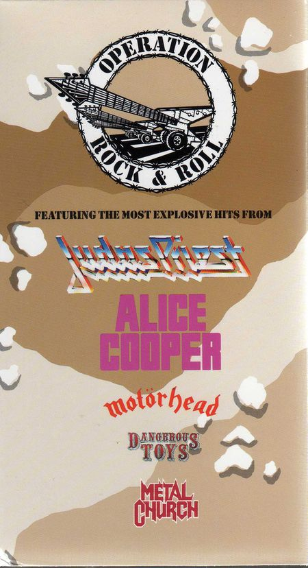 Judas Priest / Motörhead / Metal Church - Operation Rock & Roll