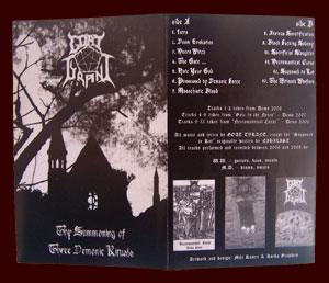 Goat Tyrant - Thy Summoning of Three Demonic Rituals