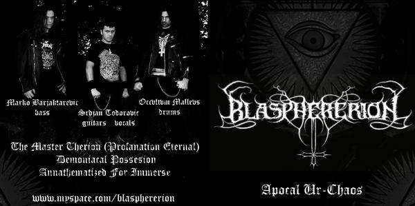 Blasphererion - Apocal Ur-Chaos