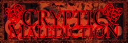 Cryptic Malediction - Logo