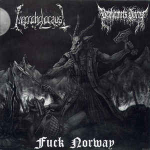 Baphomets Horns / Necroholocaust - Fuck Norway