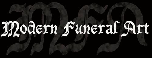 Modern Funeral Art - Logo