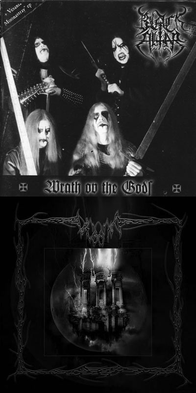Vesania / Black Altar - Wrath ov the Gods / Moonastray