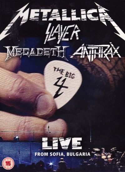 Slayer / Metallica / Megadeth / Anthrax - The Big 4: Live from Sofia, Bulgaria