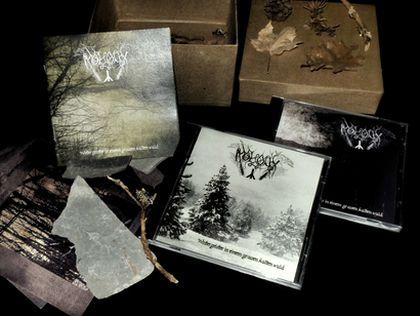 Moloch - Wintergeister in einem grauen kalten Wald