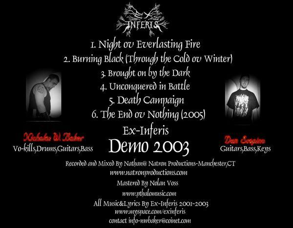 Ex-Inferis - Unholy Inquisition Demo