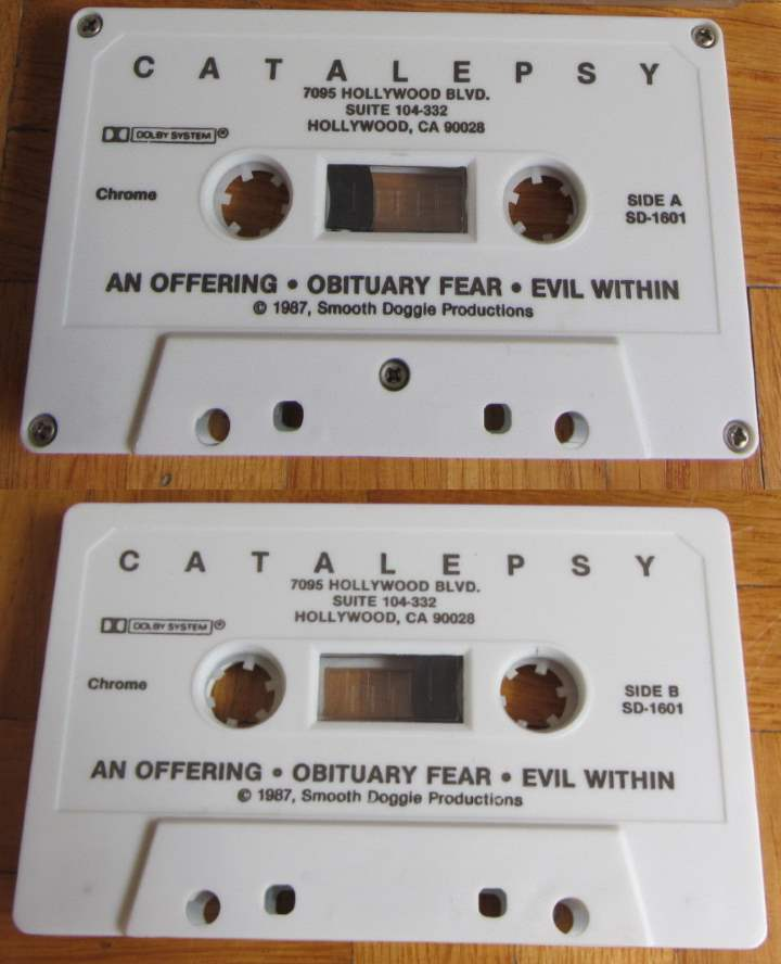 Catalepsy - Evil Within
