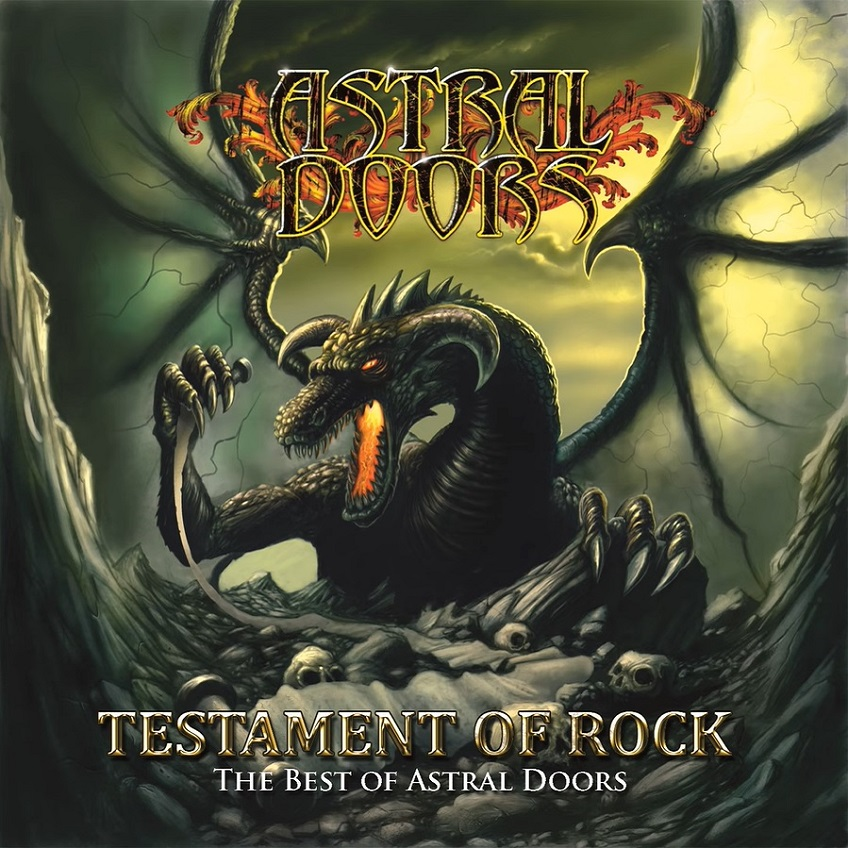 Astral Doors - Testament of Rock - The Best of Astral Doors