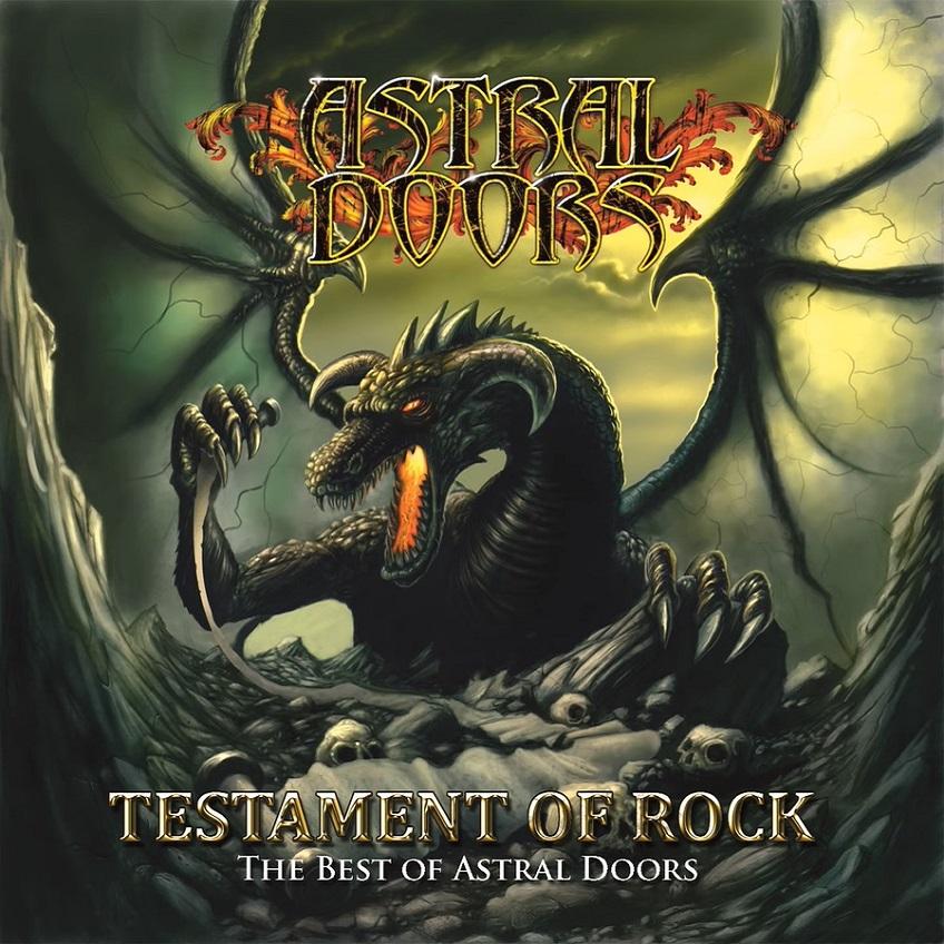 Astral Doors - Testament of Rock - The Best of Astral Doors