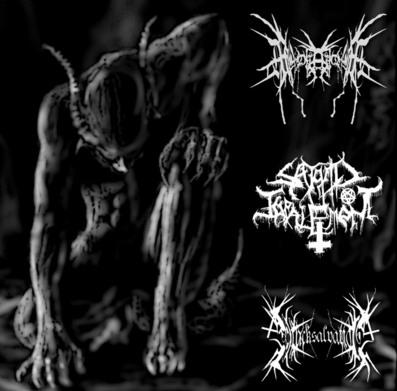 Satanic Impalement / Black Salvation / Apotamkin - Apotamkin / Black Salvation / Satanic Impalement