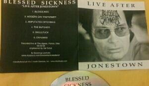 Blessed Sickness - Live After Jonestown