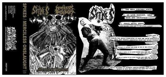 Merciless Onslaught / Spikes - Merciless Spikes
